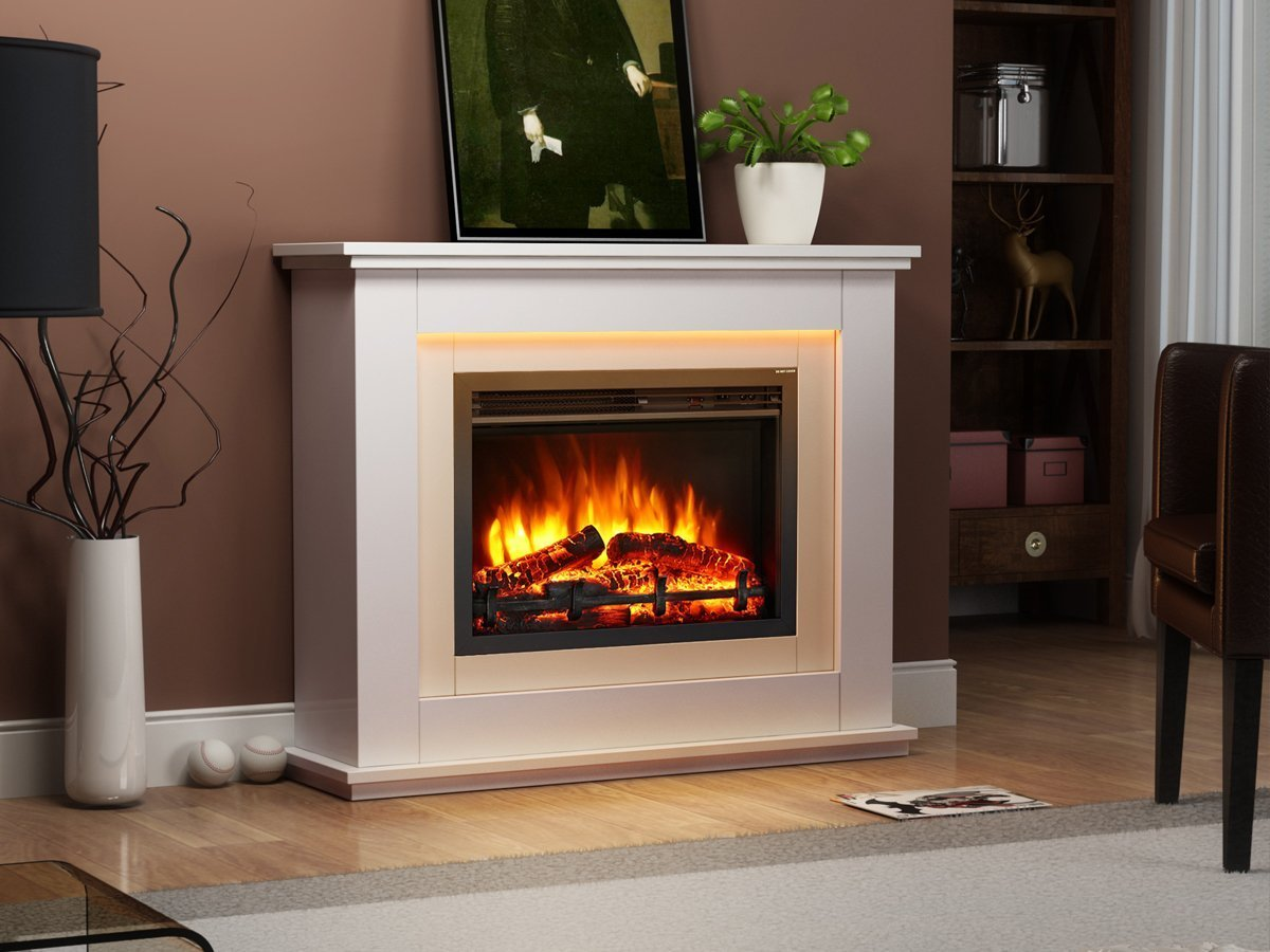 Best electric fireplace 2018 comparison guide greatest reviews - Choosing the right white electric fireplace for you ...