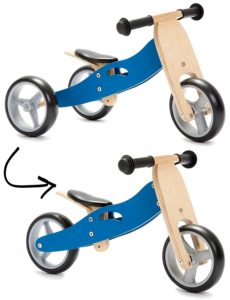 dcbe7471ee1 Nicko Mini 2 in 1 Blue Wooden Balance Running Bike Review · Best Balance  Bike